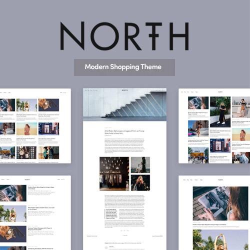 North – Responsive WooCommerce Theme FREE